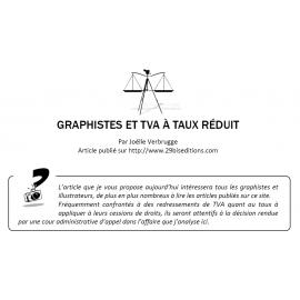 GRAPHISTES ET TVA À TAUX RÉDUIT