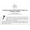 LA DÉONTOLOGIE DU PHOTOGRAPHE FAMILIAL ET LE DROIT À L'IMAGE