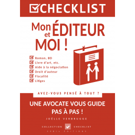 CHECKLIST Mon éditeur et moi ! - Ebook