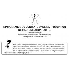 L'importance du contexte dans l'appréciation de l'autorisation tacite