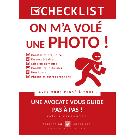 CHECKLIST On m'a volé une Photo !