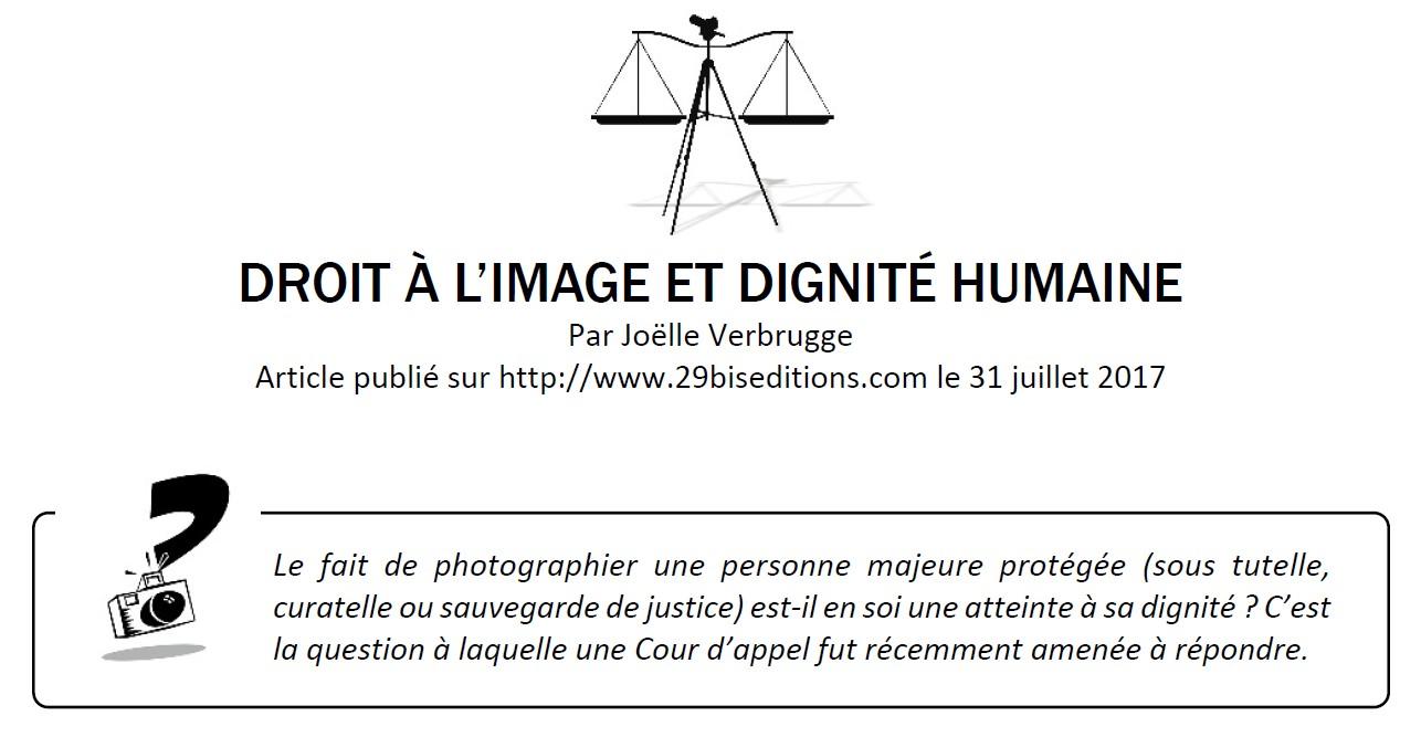 Droit A L Image Et Majeur Sous Tutelle Ou Curatelle