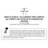 DROIT D'AUTEUR : UN JUGEMENT TRÈS COMPLET QUI PERMET UNE RÉVISION DE NOMBREUSES NOTIONS