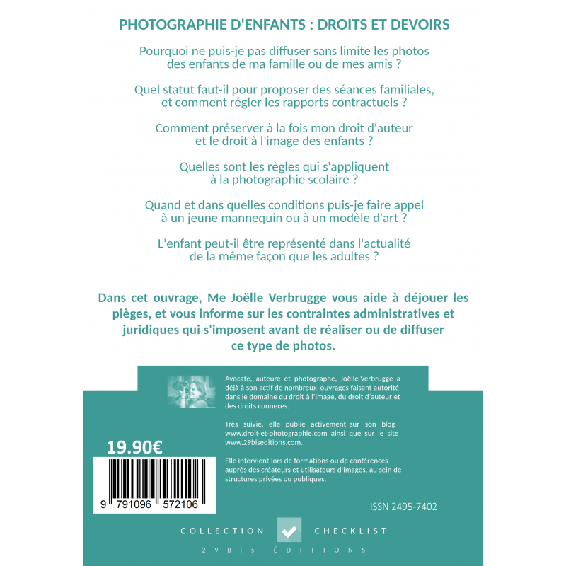 Checklist photographie d 39 enfants droits et devoirs ebook 29biseditions - Droit et devoir du locataire ...