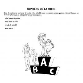 FRANÇAIS - RÉCITATION - 5-15 ANS (Checklist Mon enfant réussit à l'école !)
