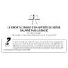 LE DROIT À L'IMAGE D'UN ARTISTE DE SCÈNE SALARIÉ PUIS LICENCIÉ
