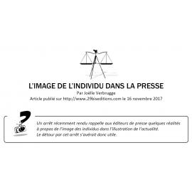 L'IMAGE DE L'INDIVIDU DANS LA PRESSE
