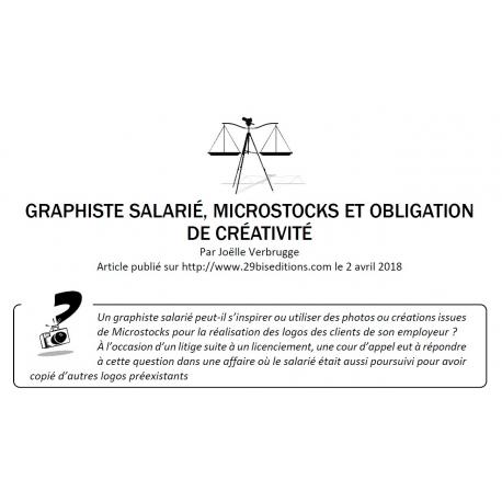 GRAPHISTE SALARIÉ, MICROSTOCKS ET OBLIGATION DE CRÉATIVITÉ