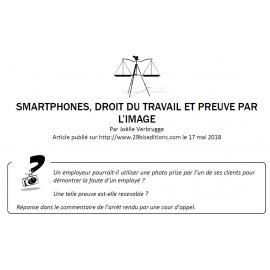 SMARTPHONES, DROIT DU TRAVAIL ET PREUVE PAR L'IMAGE