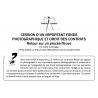 CESSION DE FONDS PHOTOGRAPHIQUE ET DROIT DES CONTRATS