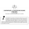 CONTREFAÇON : LA VALEUR DES EXCUSES PUBLIQUES