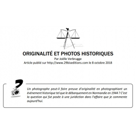 ORIGINALITÉ ET PHOTOS HISTORIQUES
