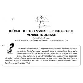 THÉORIE DE L'ACCESSOIRE ET PHOTOGRAPHIE VENDUE EN AGENCE