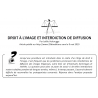 DROIT À L'IMAGE ET INTERDICTION DE DIFFUSION