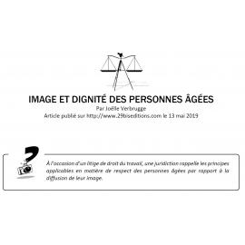 IMAGE ET DIGNITÉ DES PERSONNES ÂGÉES