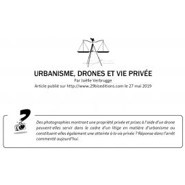 URBANISME, DRONES ET VIE PRIVÉE