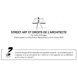 STREET ART ET DROITS DE L'ARCHITECTE